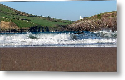 Metal Print featuring the photograph Beenbane Beach by Barbara Walsh
