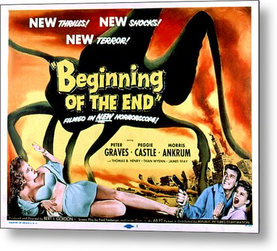 Beginning Of The End, The, Peter Metal Print by Everett