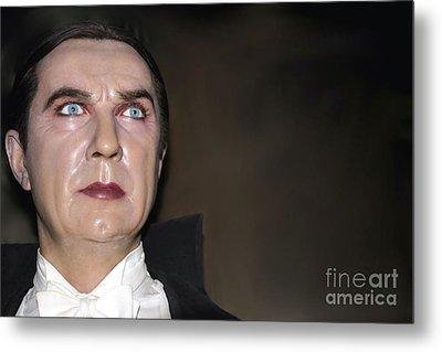 Bela Lugosi As Dracula Metal Print by Sophie Vigneault
