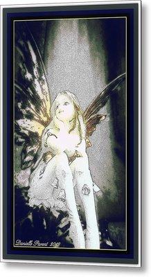 Bell Fairy  Metal Print by Danielle  Parent