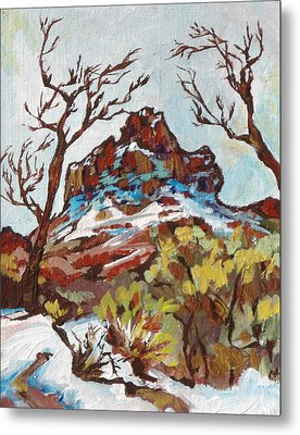 Bell Rock 3 Metal Print by Sandy Tracey