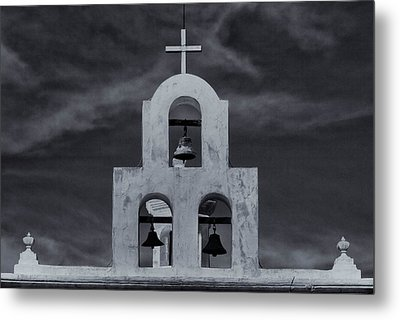Metal Print featuring the photograph Bell Tower by Tom Singleton