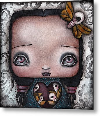 Bella Metal Print by  Abril Andrade Griffith