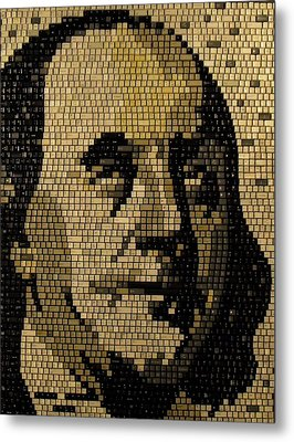 Ben Franklin Metal Print