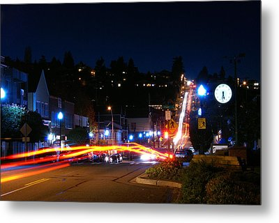 Metal Print featuring the photograph Bending Light Through Old Town by Rob Green
