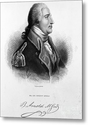 Benedict Arnold, American Traitor Metal Print by Omikron