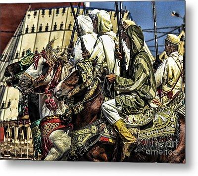Berber Soldiers Metal Print by Chuck Kuhn