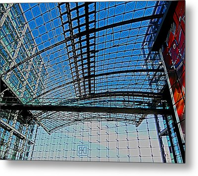 Berlin Central Station ...  Metal Print by Juergen Weiss