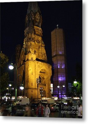 Berlin Nights Metal Print