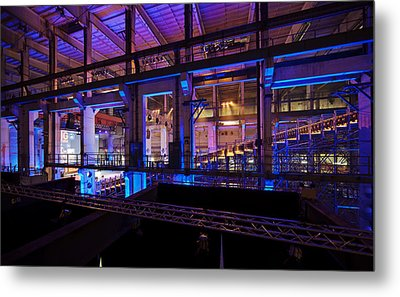 Berlin Powerhouse Event Metal Print by Mike Reid
