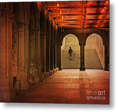 Metal Print featuring the photograph Bethesda Passage by Deborah Smith