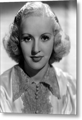 Betty Grable, 1937 Metal Print by Everett