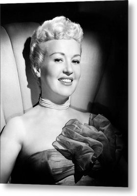 Betty Grable, 20th Century-fox, Late Metal Print by Everett