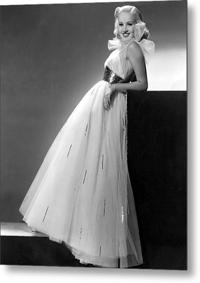 Betty Grable, Paramount Pictures, 1937 Metal Print by Everett