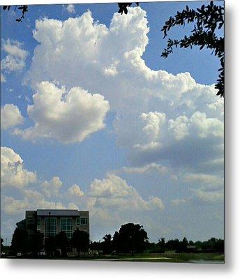 Big Bang What? #creation #clouds #sky Metal Print by Kel Hill