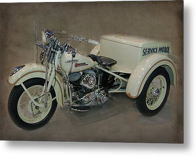 Metal Print featuring the photograph Big Boy Tricycle by Bill Dutting