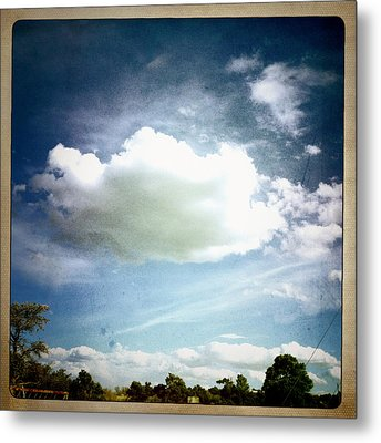 Metal Print featuring the photograph Big Cloud by Paul Cutright