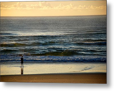 Metal Print featuring the photograph Big Ocean  by Eric Tressler