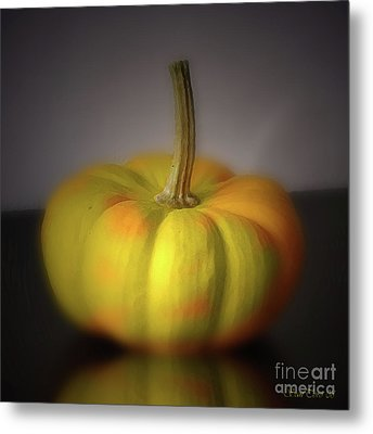Big Pumpkin Metal Print