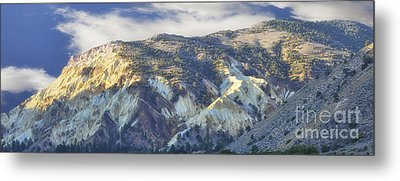 Big Rock Candy Mountains Metal Print by Donna Greene
