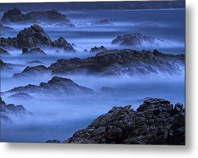 Big Sur Mist Metal Print by William Lee