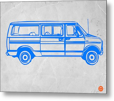 Big Van Metal Print by Naxart Studio