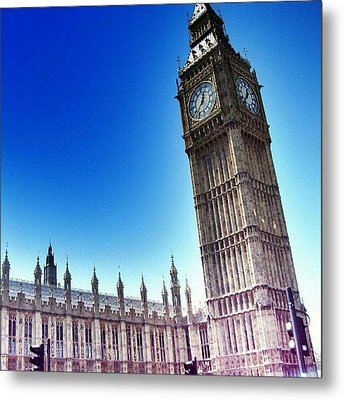 #bigben #uk #england #london2012 Metal Print by Abdelrahman Alawwad