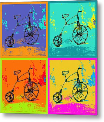 Bike 1b Metal Print by Mauro Celotti