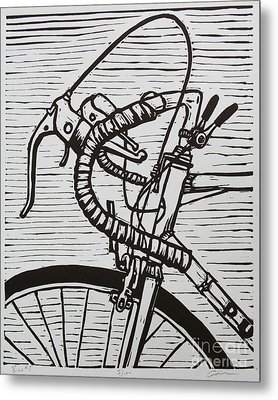 Bike 2 Metal Print by William Cauthern
