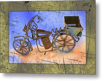 Bike 2a Metal Print by Mauro Celotti