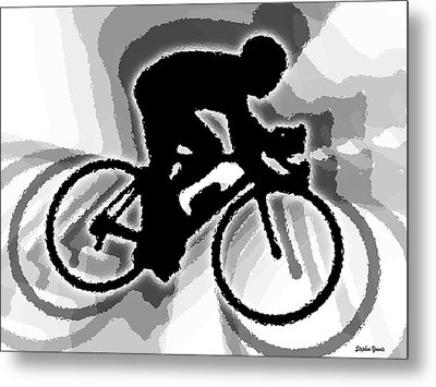 Bike Metal Print by Stephen Younts