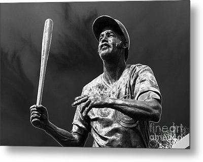 Billy Williams - H O F Metal Print by David Bearden