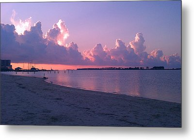 Metal Print featuring the photograph Biloxi Sunrise by Brian Wright
