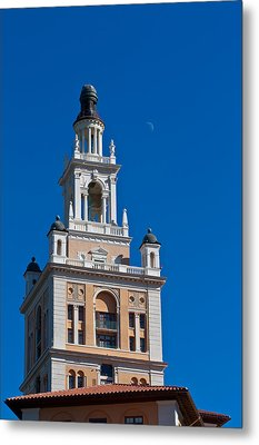 Metal Print featuring the photograph Coral Gables Biltmore Hotel Tower by Ed Gleichman