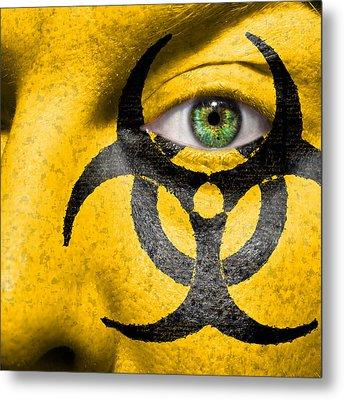 Biohazard Metal Print by Semmick Photo