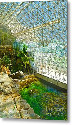 Biosphere2 - Environment 2 Metal Print by Gregory Dyer