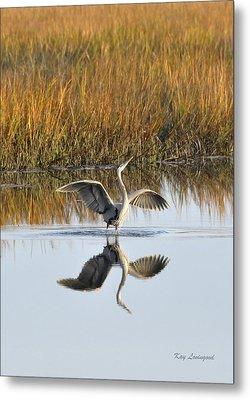 Bird Dance Metal Print by Kay Lovingood