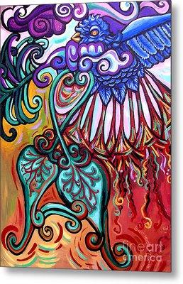 Bird Heart I Metal Print by Genevieve Esson