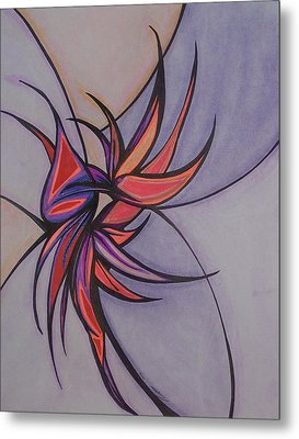 Bird Of Paradise Metal Print by Tara Francoise