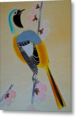 Bird Print Metal Print by Julia Wilcox