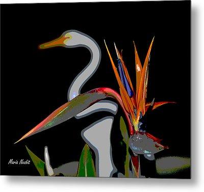 Birds In My Paradise... Metal Print