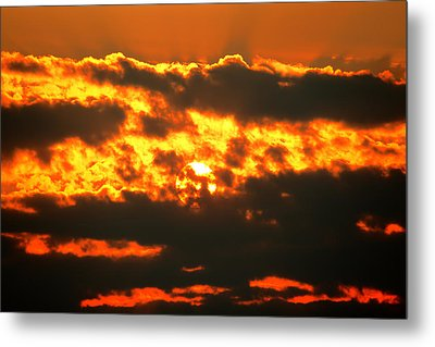 Birth Of A Sun Metal Print by Metro DC Photography