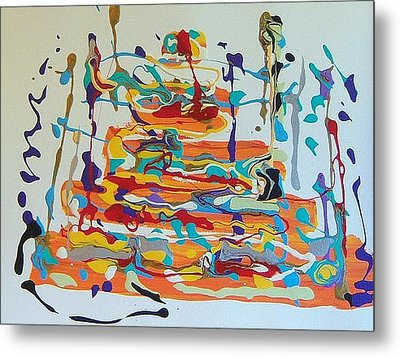 Birthday Metal Print by Helene Henderson