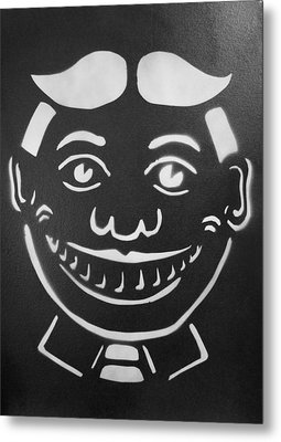 Black And White Tillie Metal Print by Patricia Arroyo