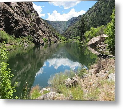Black Canyon River Metal Print