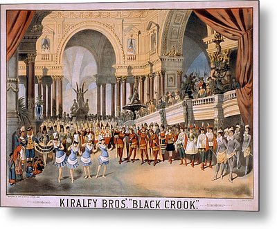 Black Crooks Was First Produced In New Metal Print by Everett