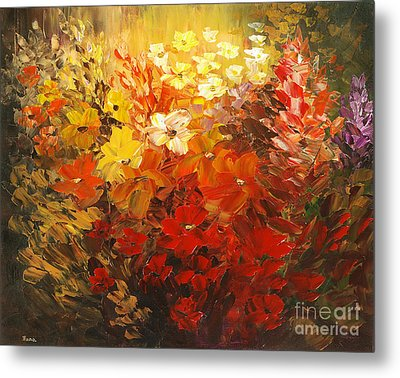 Metal Print featuring the painting Black Forest Hotel by Tatiana Iliina