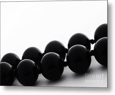 Black Pearls Metal Print by Blink Images