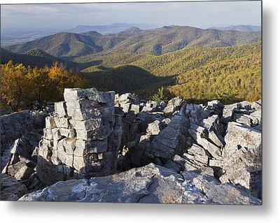 Black Rock Mountain Shenandoah National Park Metal Print by Pierre Leclerc Photography