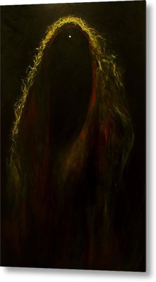 Black Widow Pulsar Metal Print by Alizey Khan
